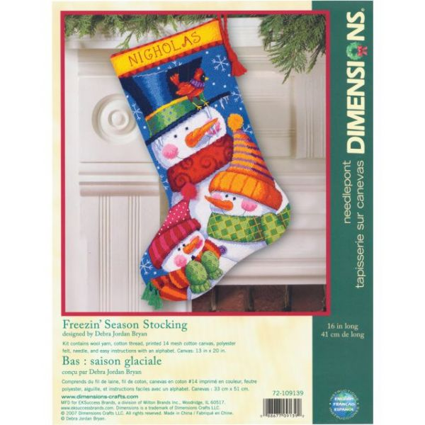Stocking Needlepoint Kit