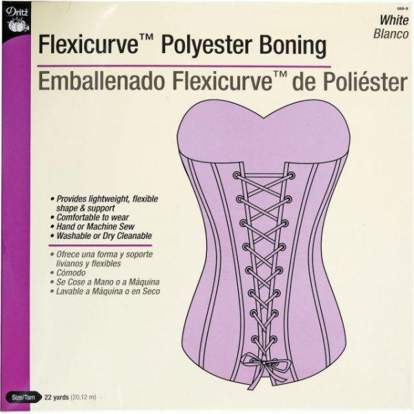 Flexicurve Polyester Boning 22yd