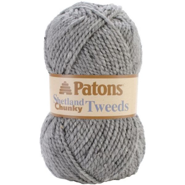Patons Shetland Chunky Yarn - Pewter