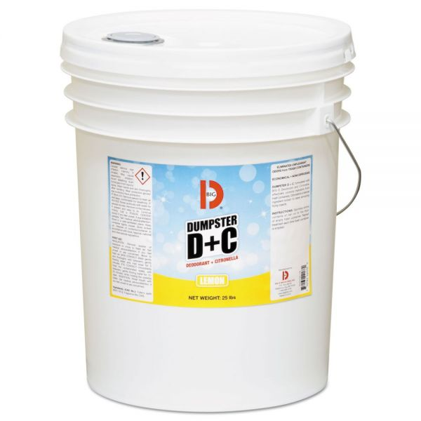 Big D Industries Dumpster D Plus C Odor-absorbing Powder