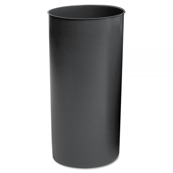 Rubbermaid Commercial Rigid Liner, Cylindrical, Plastic, 12 1/8 gal, Gray