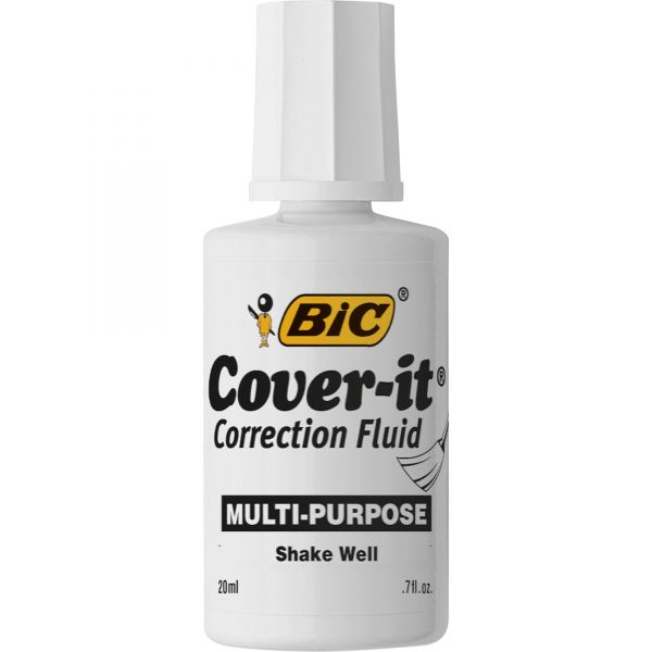 Wite-Out Cover-it Correction Fluid