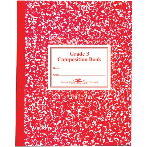 Roaring Spring Third-Grade Composition Notebook