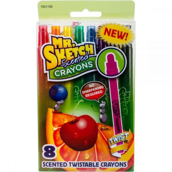 Scented Twist Crayons 8/Pkg