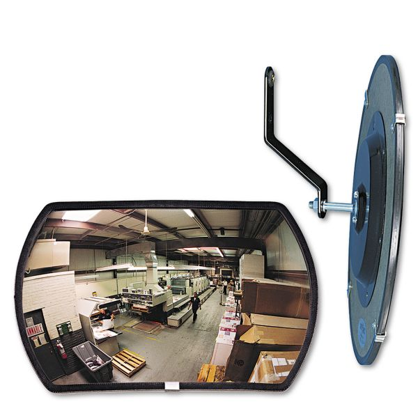 See All RR1218 Round Rectangular Convex Mirror