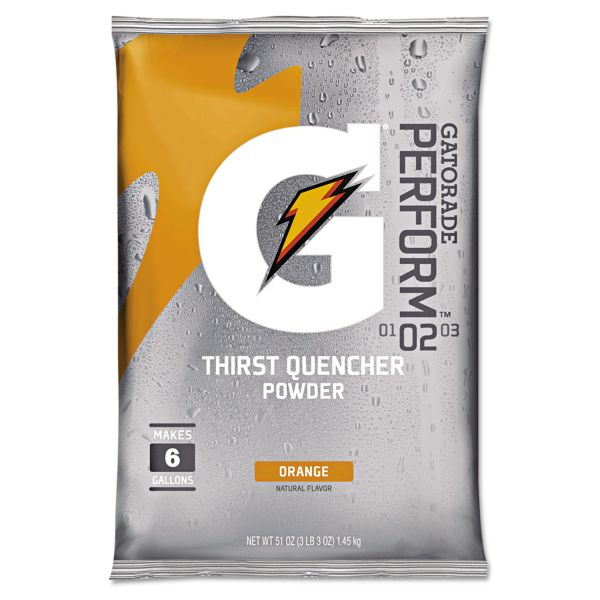 Gatorade Original Orange Powdered Drink Mix