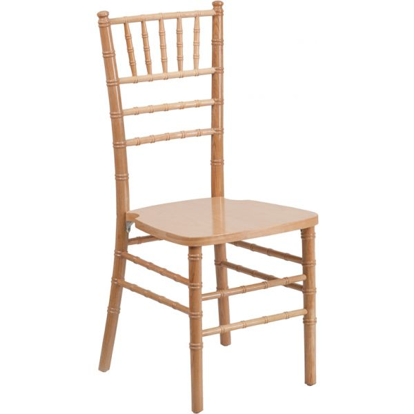 Flash Furniture Natural Wood Chiavari Chair [XS-NATURAL-GG]