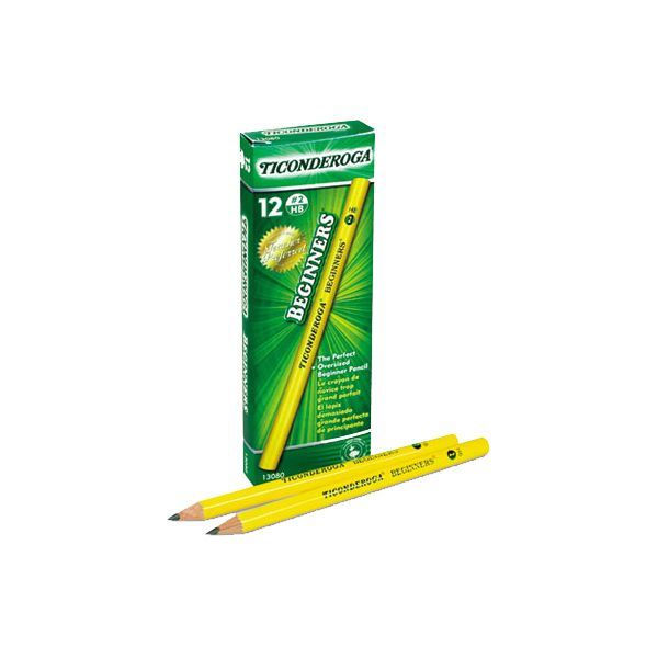 Ticonderoga Beginners #2 Wood Pencils