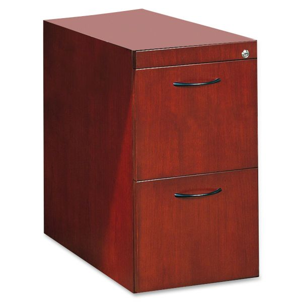Tiffany Industries File/File Pedestal For Desk, 15W X24D X 27H, Sierra Cherry