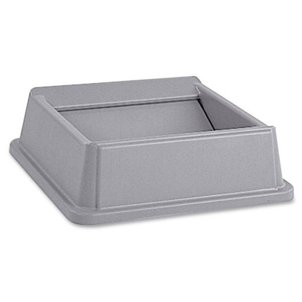 Rubbermaid Commercial Untouchable Square Swing Trash Can Lid