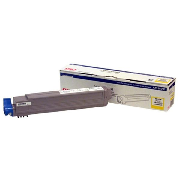 Oki 42918901 Yellow Toner Cartridge