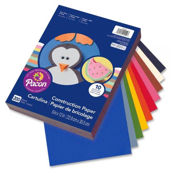 Rainbow Super Value Construction Paper