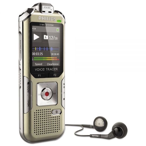 Philips Voice Tracer 6500 Digital Recorder
