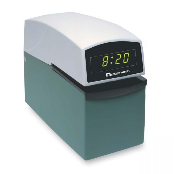 Acroprint ETC Heavy Duty Document Stamps With Digital Display