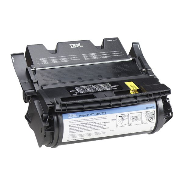 InfoPrint Solutions Company 75P4301 High-Yield Toner, 5000 Page-Yield, Black