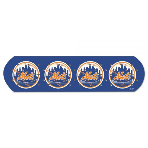"CureIt MLB Adhesive Bandages, NY Mets, 1"" x 3"", 50/Box"