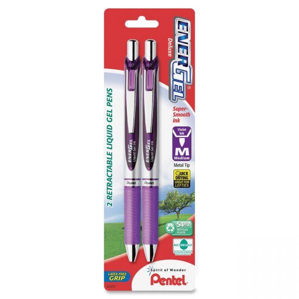 Pentel EnerGel Pearl Retractable Liquid Gel Pens