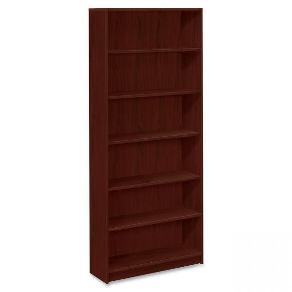 HON 1870 Series 6-Shelf Laminate Bookcase