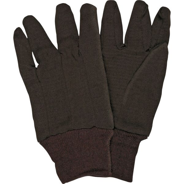 MCR Safety General Purpose Brown Jersey Gloves