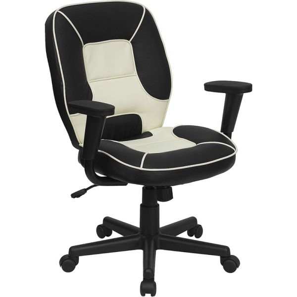 Flash Furniture Mid-Back Vinyl Steno Office Chair