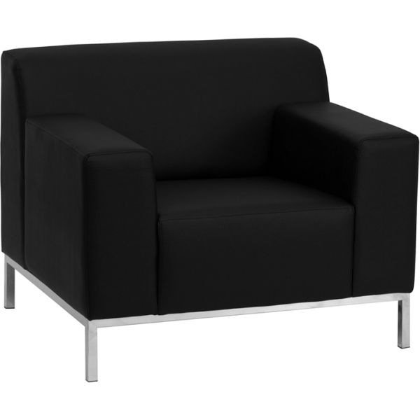Flash Furniture Definity Series Contemporary Leather Chair