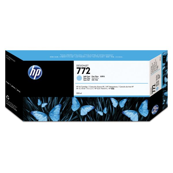 HP 772 Light Cyan Ink Cartridge (CN632A)