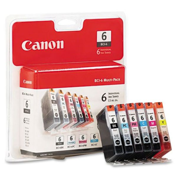 Canon BCI-6 Color Ink Cartridges