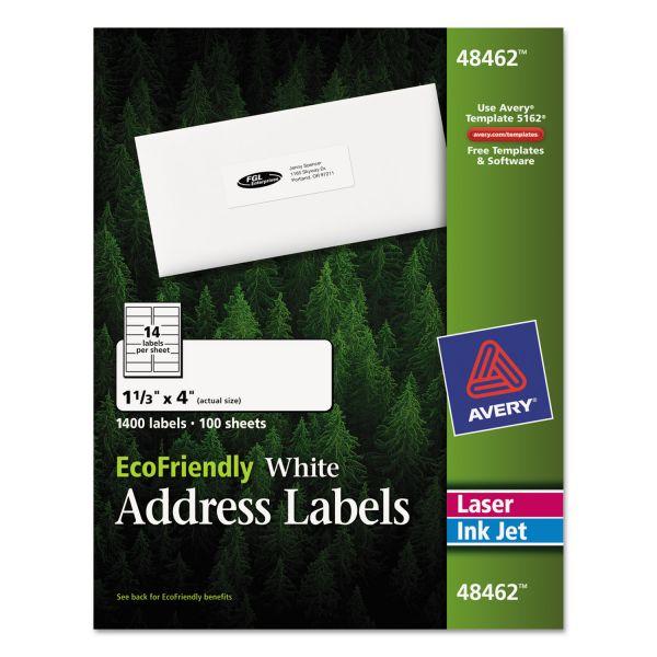 Avery EcoFriendly Address Labels