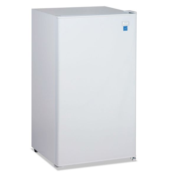 Avanti 3.3 Cu.Ft Refrigerator with Chiller Compartment, White