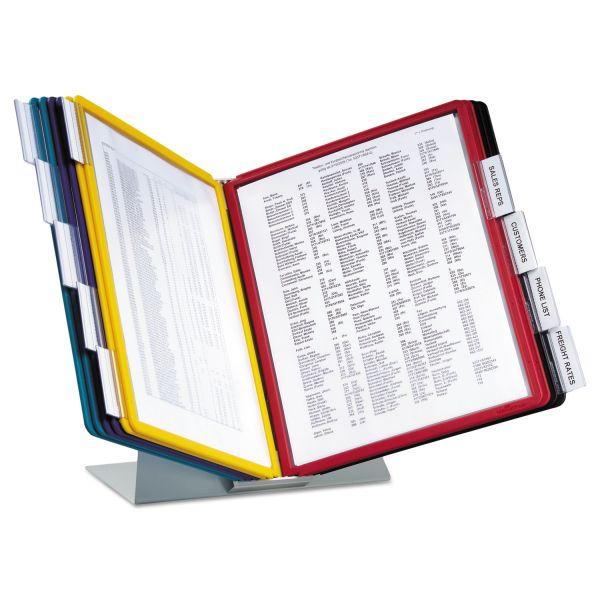 Durable VARIO Reference Desktop System, 10 Panels