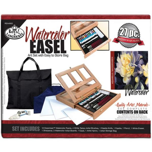 Easel Art Set W/Easy To Store Bag