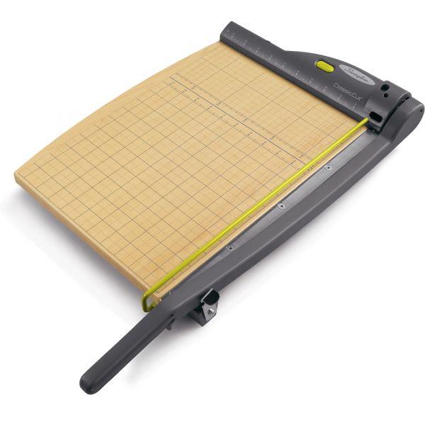 """Swingline ClassicCut Wood Laser 15"""" Paper Cutter"""