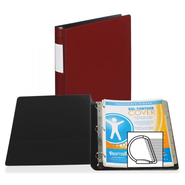 "Samsill Top Performance DXL Locking 1"" 3-Ring Binder"
