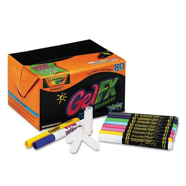 Crayola Gel Markers Classpack