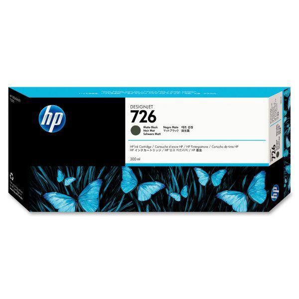 HP 726 Matte Black Ink Cartridge (CH575A)