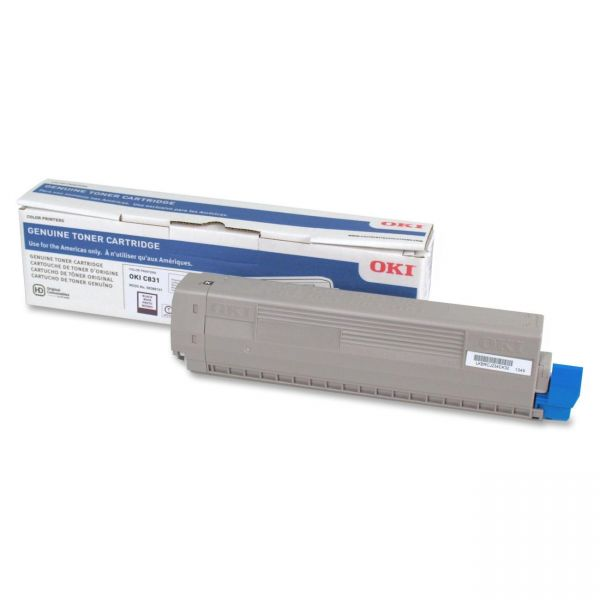 Oki 44844512 Black Toner Cartridge