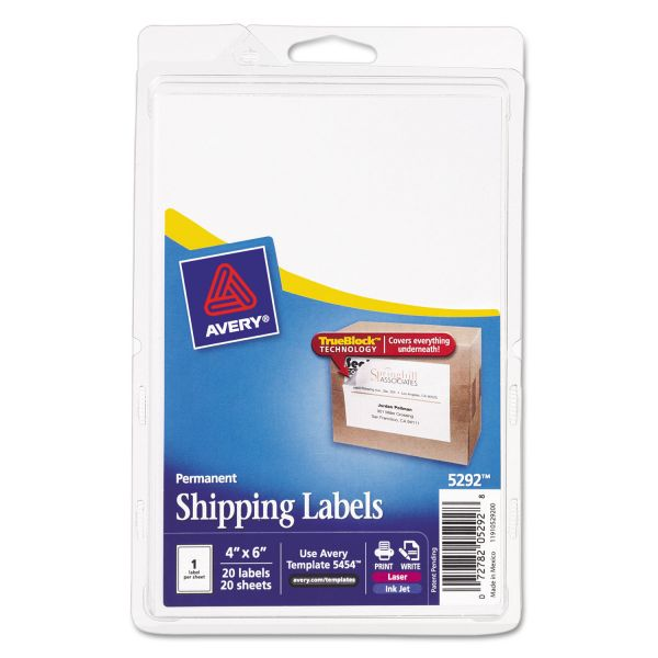 Avery 5292 Shipping Labels