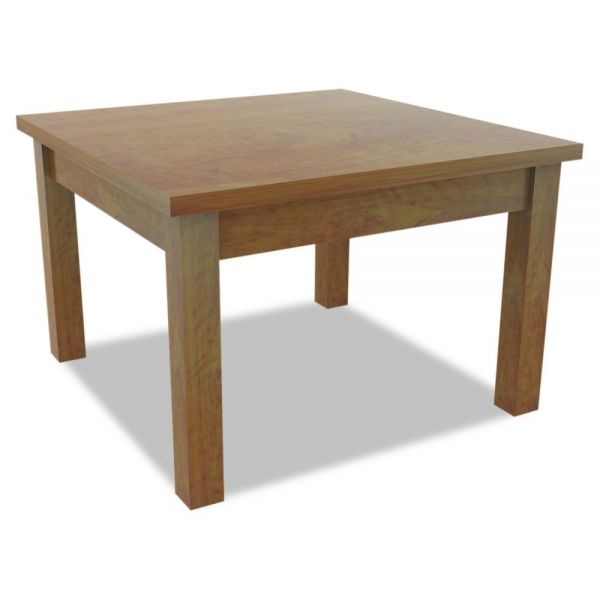 Alera Alera Valencia Occasional Table, Square, 23-5/8 x 23-5/8 x 20-3/8, Medium Cherry
