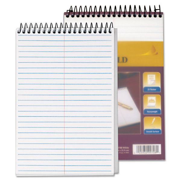 TOPS Docket Gold Perforated Steno Pad