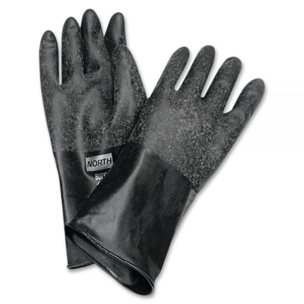 "NORTH 14"" Unsupported Butyl Gloves"