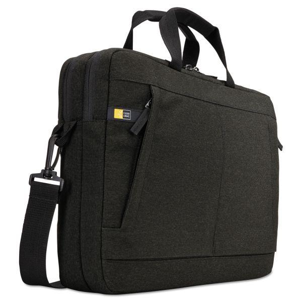 "Case Logic Huxton 15.6"" Laptop Bag, 2 7/8 x 16 x 11 7/8, Black"