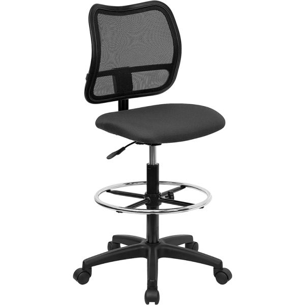 Flash Furniture Mid-Back Mesh Drafting Chair