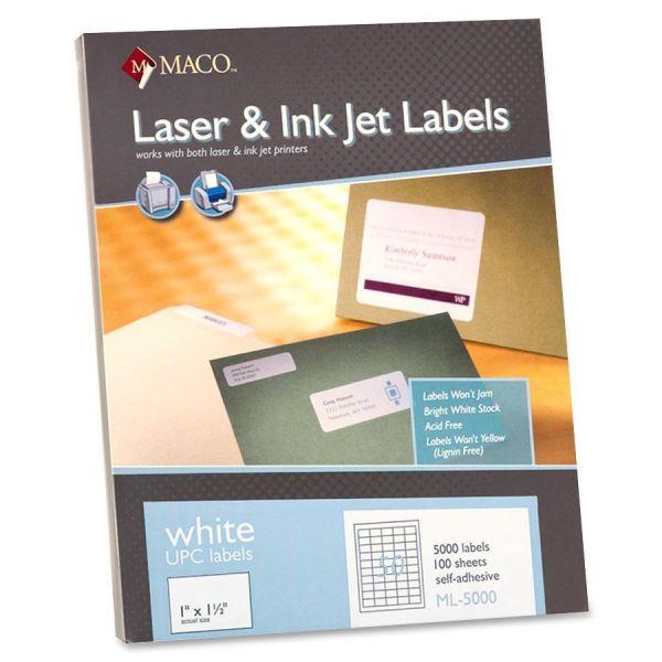 Maco UPC Labels