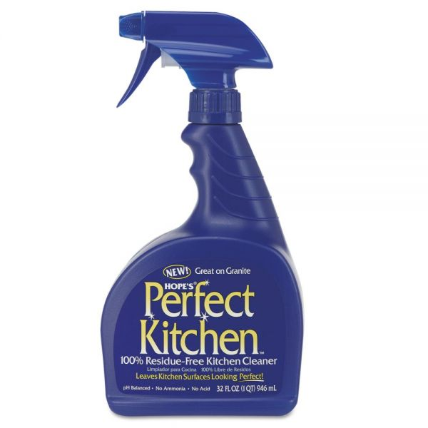 Hope's Perfect Kitchen Cleaner, 32oz Spray Bottle