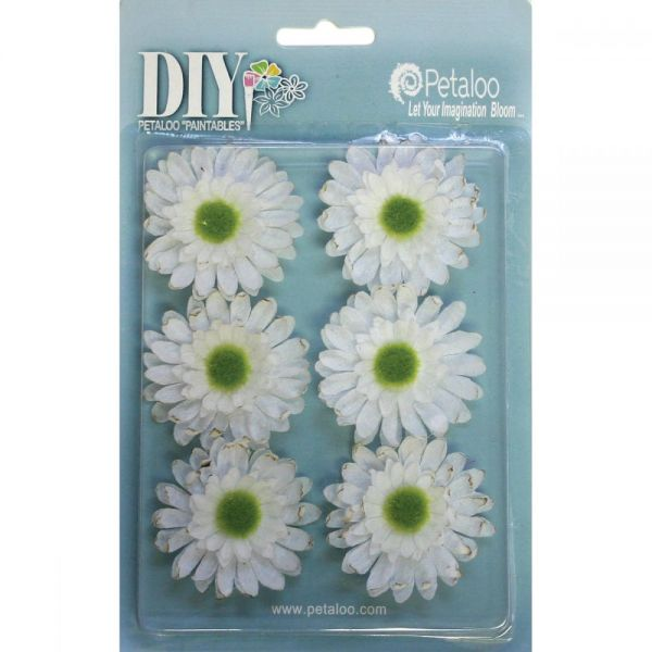 "DIY Paintables Gerbera Daisies 2"" 6/Pkg"