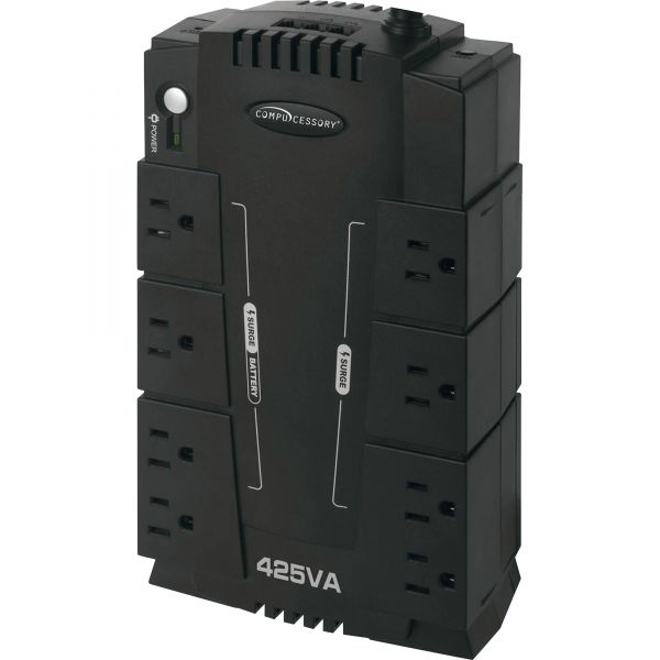 Compucessory 8-Outlet 230W UPS Backup System