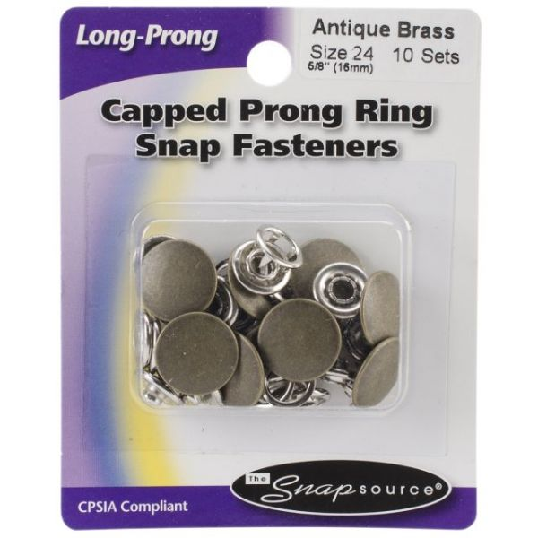 Capped Long-Prong Snaps