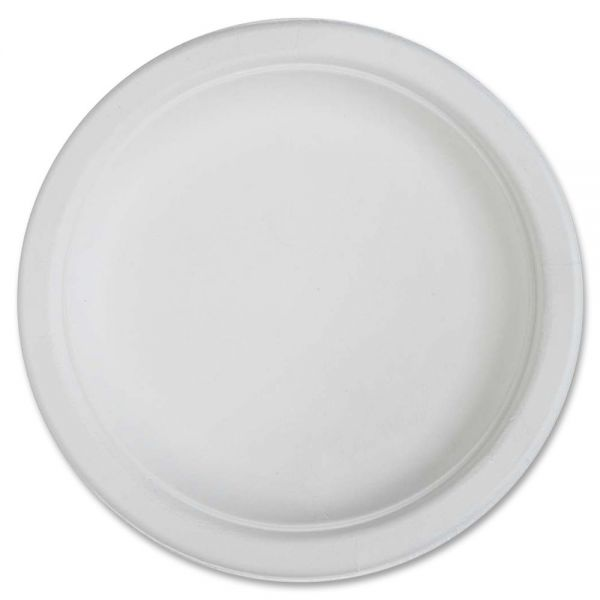 "Genuine Joe 6"" Bagasse Plates"