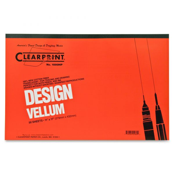 Clearprint ClearPrint Design Vellum Pad