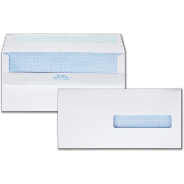 Quality Park Health Form Redi Seal Security Envelope, #10 1/2, 4 1/2 x 9 1/2, White, 500/Box